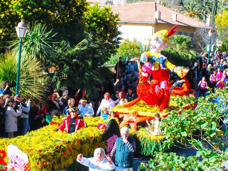 Le corso fleuri de Bormes fête ses 100 ans le 23 février 2020
